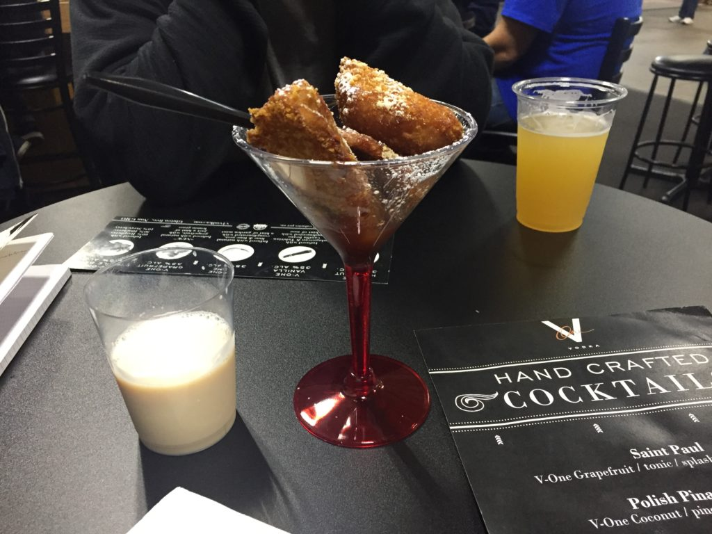 Deep-fried martini at the Big E