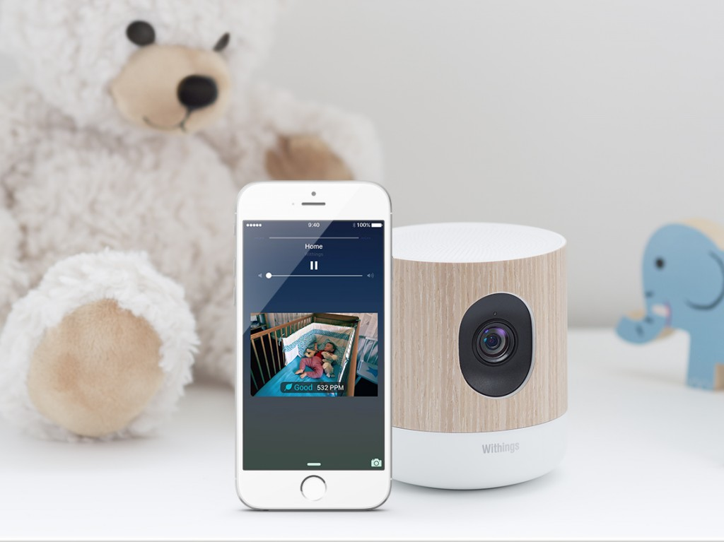 advanced baby monitor withings home