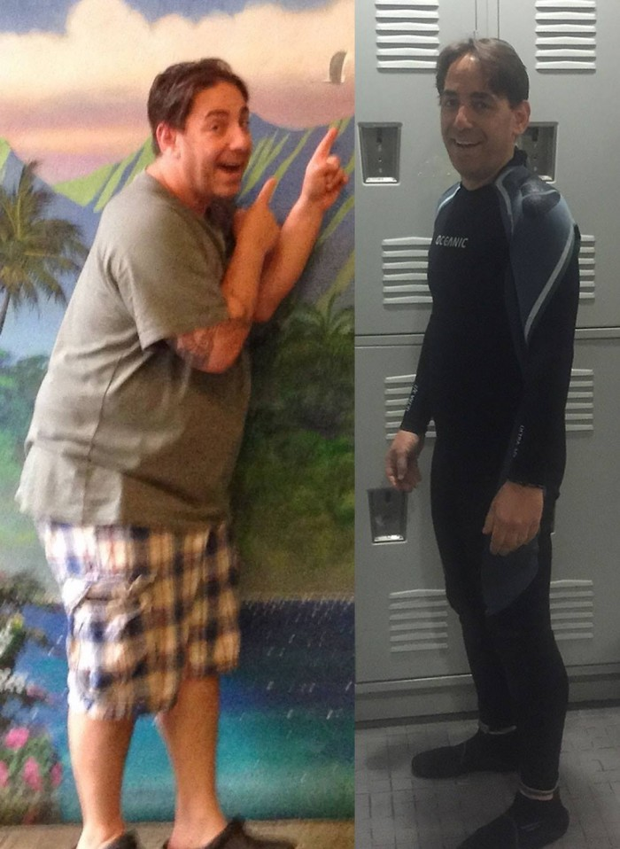 Before and after: Rich Ross